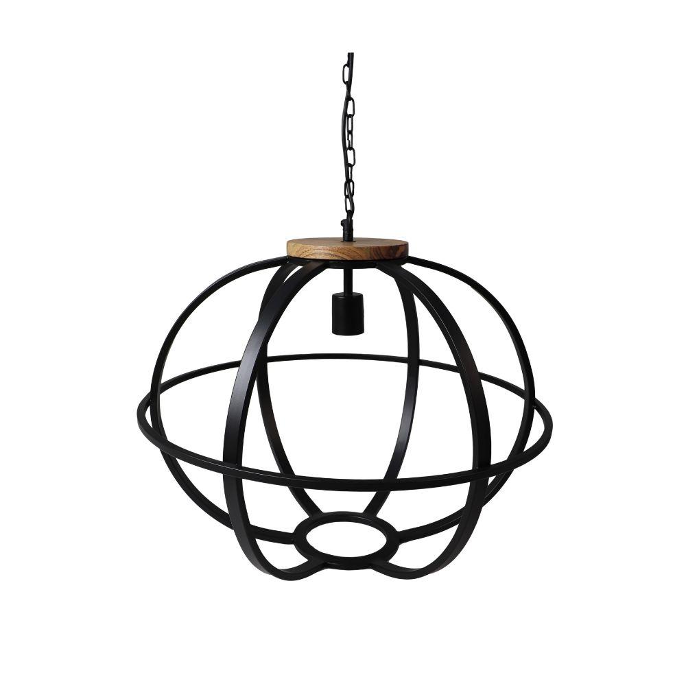Hanglamp Michigan - ø49 cm - zwart