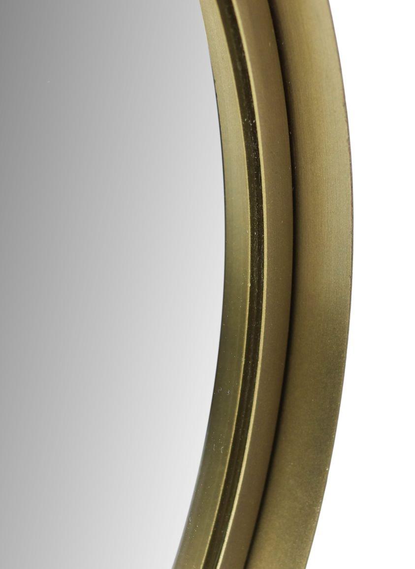 Wandspiegel Fletcher Rond - ø40 - antique gold - Ijzer/glas