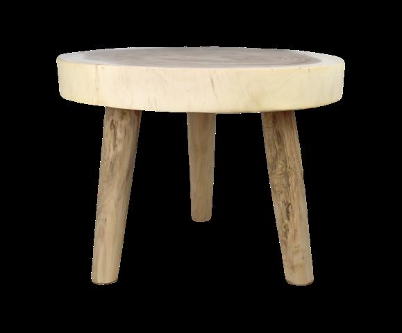 Salontafel - rond - ø50 cm - munggur