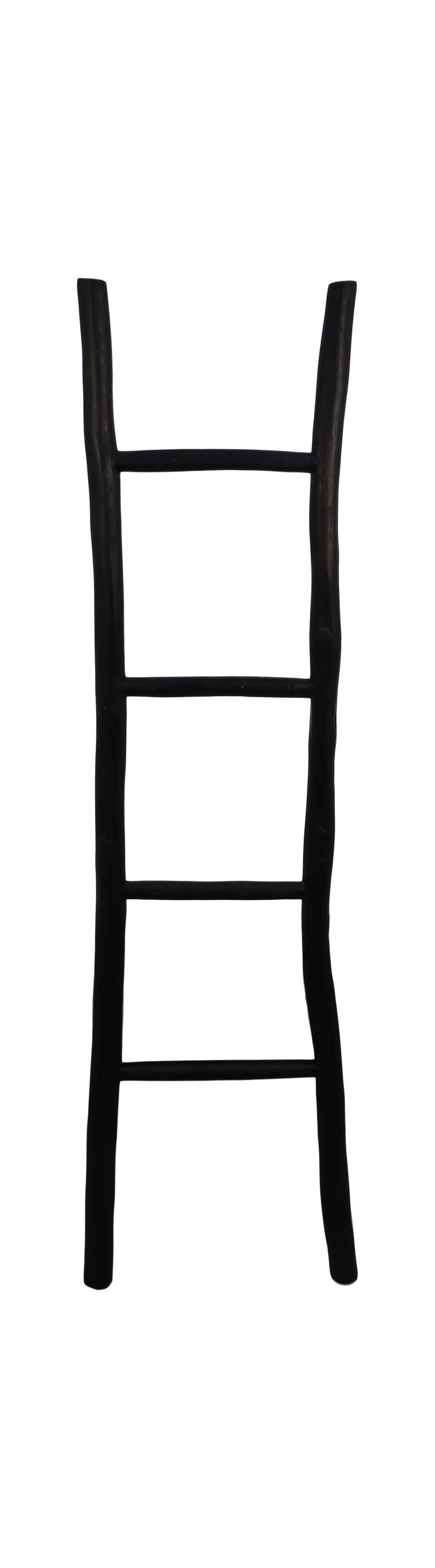 Decoratieve ladder - 150 cm - zwart