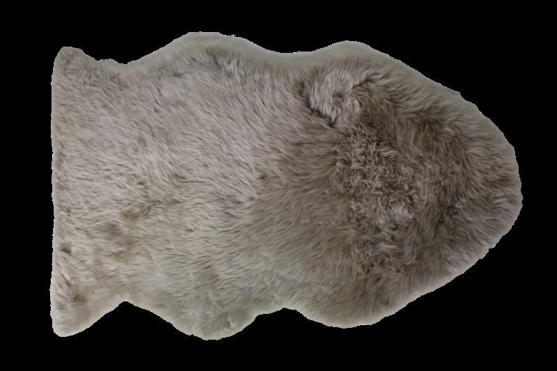 Schapenvacht groot - grijs