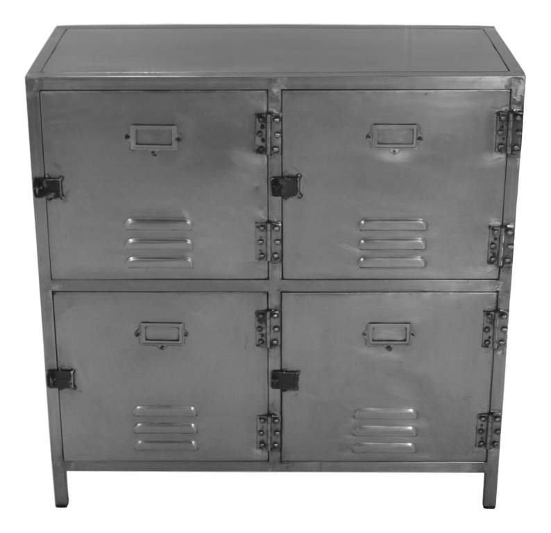 Lockerkast York - ijzer - Natural Steel