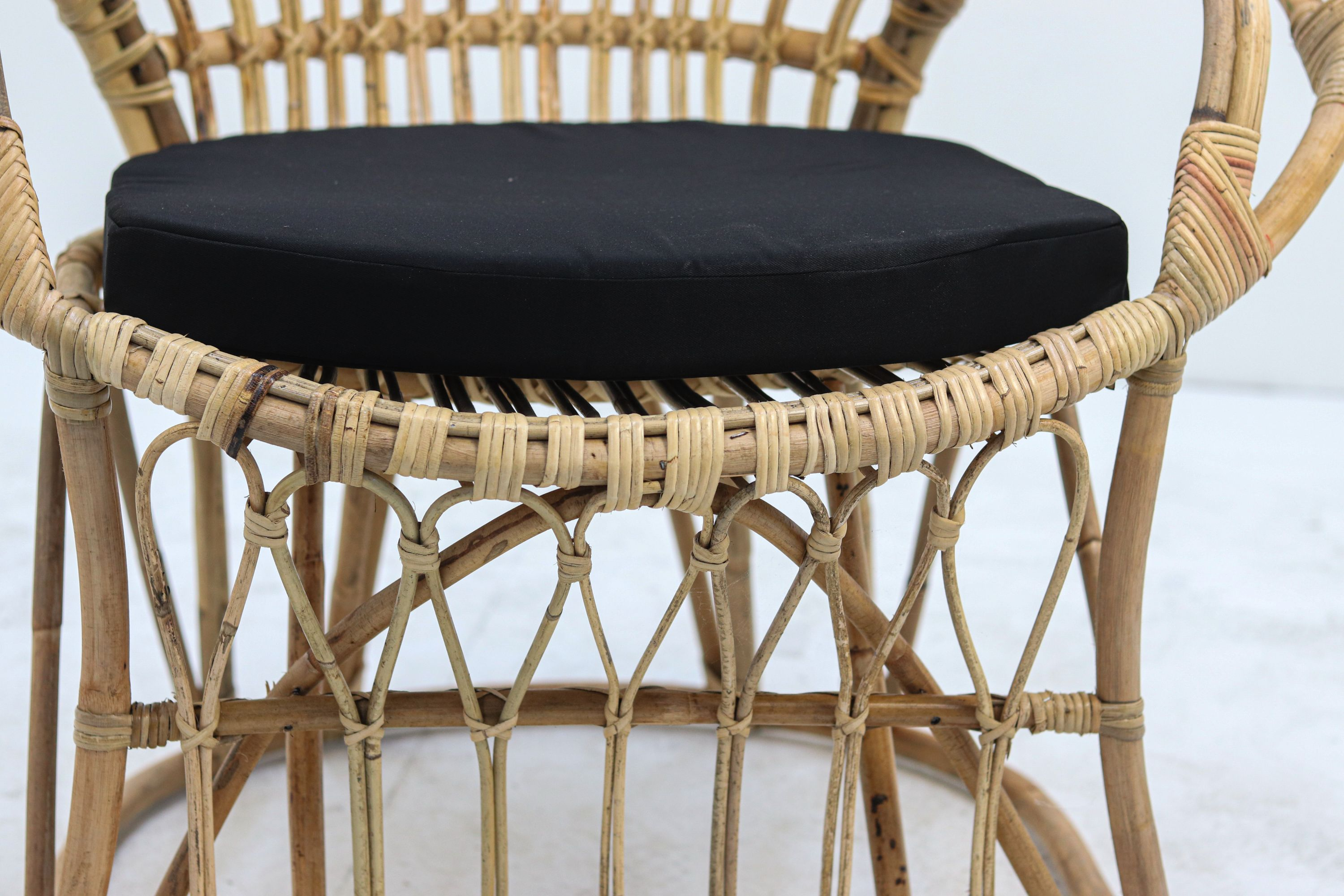 Rattan chair Medina - 90x60x135 - Rattan - Natural brown